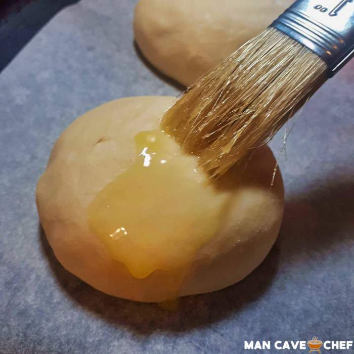 Brush butter on the buns