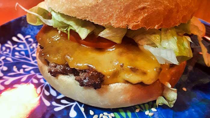 Smashed burger recipe